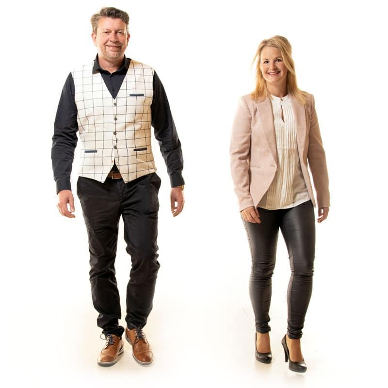 Ilona en Albert de makelaars van 't Drentsche Huys